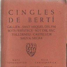 Libros: CINGLES DE BERTÍ. EDITORIAL ALPINA. Lote 167509004