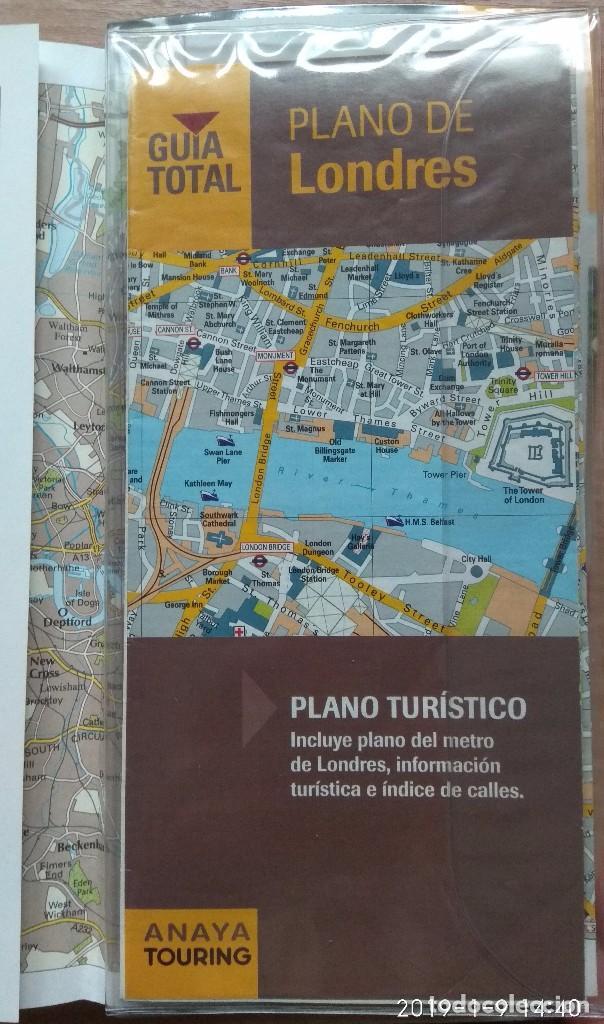 Libros: GUIA DE VIAJE LONDRES ANAYA TOURING - Foto 3 - 169461496