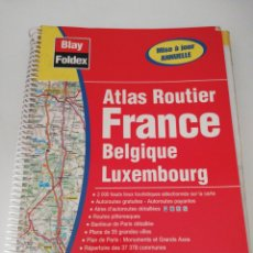 Libros: ATLAS ROUTIER FRANCE, BELGIQUE LUXEMBOURG. Lote 170259705