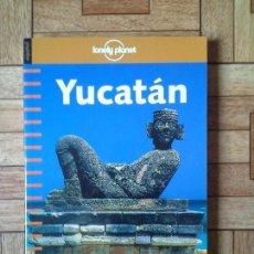 Libros: YUCATÁN - LONELY PLANET - NUEVO DE LIBRERÍA. Lote 171008449