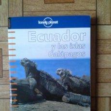 Libros: ECUADOR Y LAS ISLAS GALÁPAGOS - LONELY PLANET - NUEVO DE LIBRERÍA. Lote 171008638