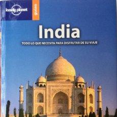 Libros: INDIA. GUÍA LONELY PLANET. NUEVO REF: AX252. Lote 172779962