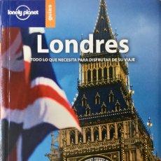 Libros: LONDRES. GUÍA LONELY PLANET. NUEVO REF: AX262. Lote 172786675