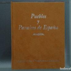 Libros: PUEBLOS Y PARAÍSOS DE ESPAÑA: ANDALUCÍA, COMUNIDAD CANARIA; EXTREMADURA, CASTILLA LA MANCHA, MURCIA. Lote 173063242