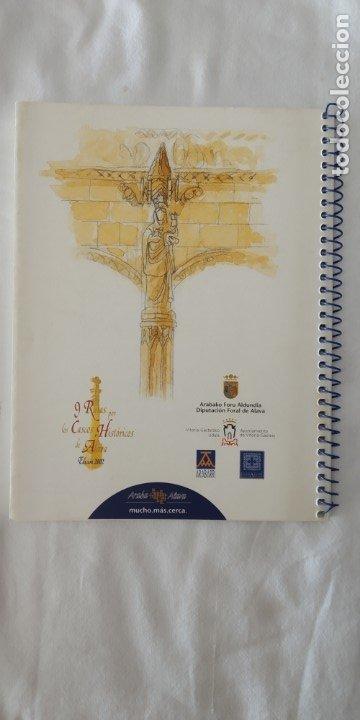 Libros: 9 RUTAS POR LOS CASCOS HISTORICOS DE ALAVA ED. 2002-DIPUTACION FORAL DE ALAVA - Foto 3 - 174177953
