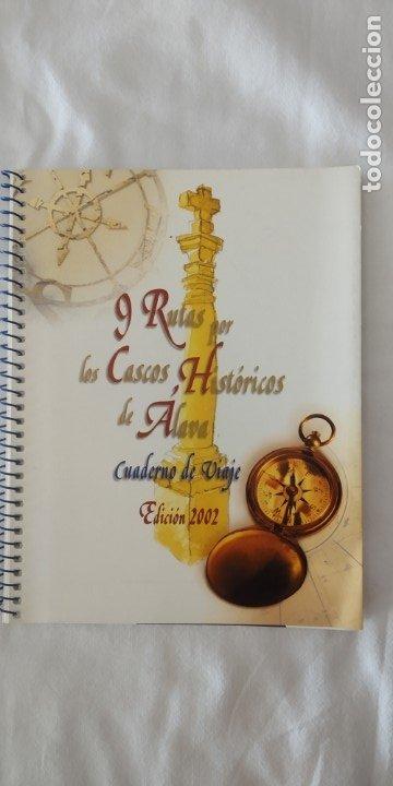 9 RUTAS POR LOS CASCOS HISTORICOS DE ALAVA ED. 2002-DIPUTACION FORAL DE ALAVA (Libros Nuevos - Ocio - Guía de Viajes)