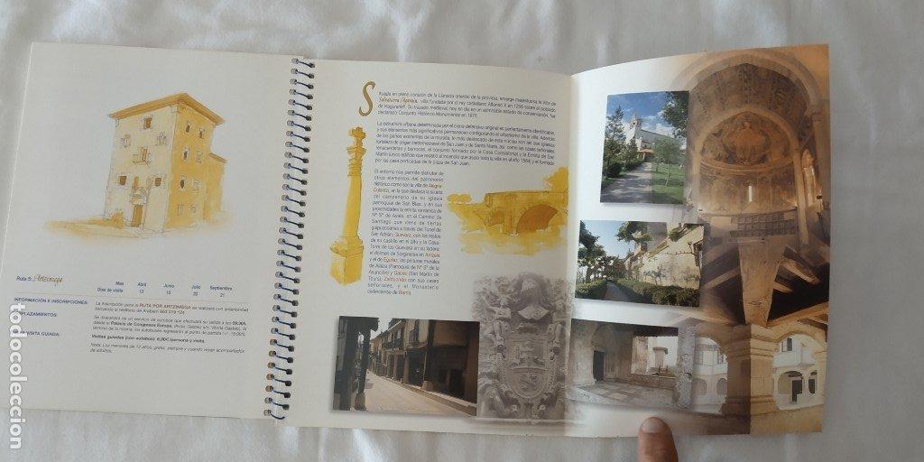 Libros: 9 RUTAS POR LOS CASCOS HISTORICOS DE ALAVA ED. 2002-DIPUTACION FORAL DE ALAVA - Foto 2 - 174177953