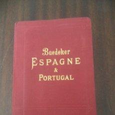 Libros: GUIA DE VIAJES BAEDEKER AÑO 1900 BUENA CONSERVACION MAPAS Y PLANOS COMPLETA ESPAÑA Y PORTUGAL. Lote 178282050