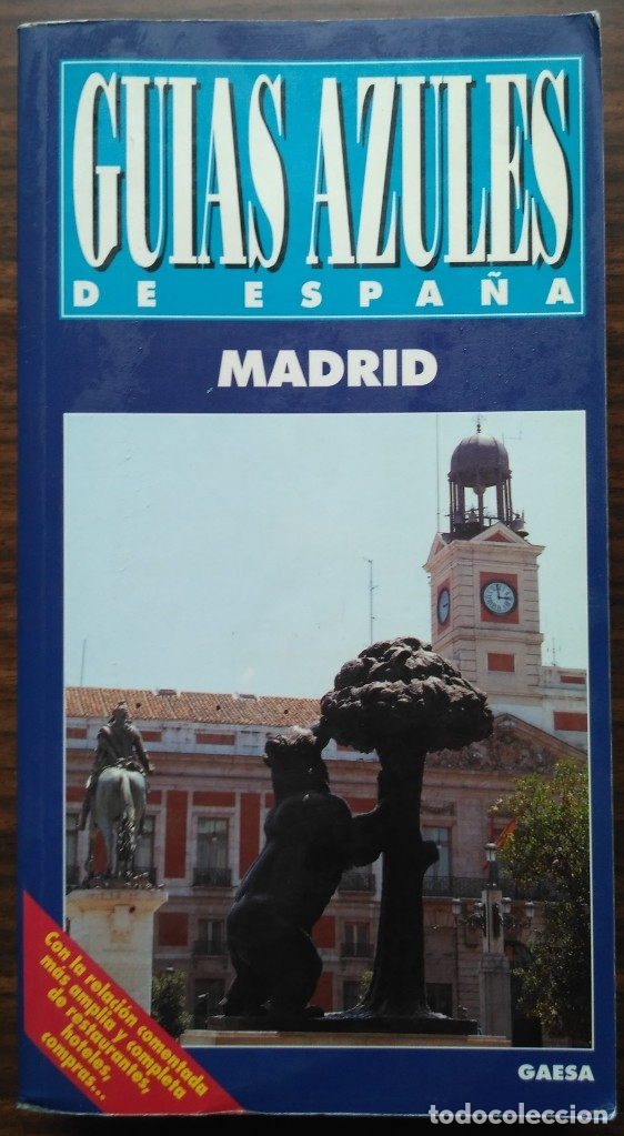 GUIA AZUL. MADRID (Libros Nuevos - Ocio - Guía de Viajes)