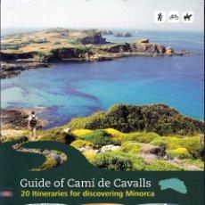 Libros: GUIDE OF CAMÍ DE CAVALLS (INGLÉS). Lote 183307850