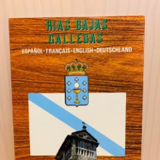 Libros: RIAS BAJAS GALLEGAS EDITA POSTALES FAMA. Lote 183415653