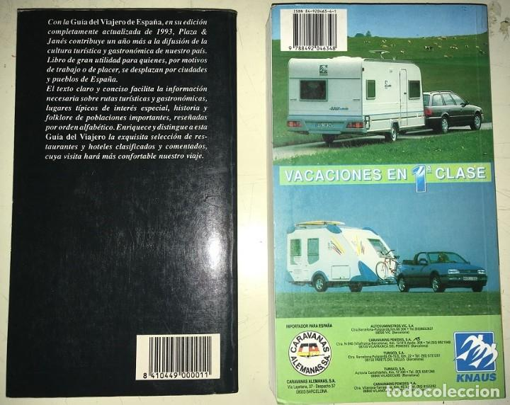Libros: 2 Guias: Guia Camping 97 España Portugal Europa -- Guia del Viajero Plaza y Janes España 1993 - Foto 2 - 183661462