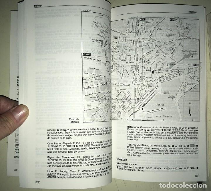 Libros: 2 Guias: Guia Camping 97 España Portugal Europa -- Guia del Viajero Plaza y Janes España 1993 - Foto 5 - 183661462