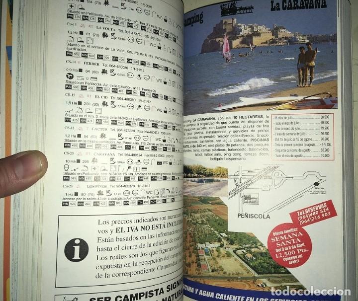 Libros: 2 Guias: Guia Camping 97 España Portugal Europa -- Guia del Viajero Plaza y Janes España 1993 - Foto 6 - 183661462