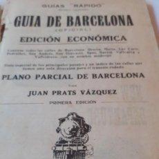 Libros: GUIA BARCELONA 1929. Lote 183664501