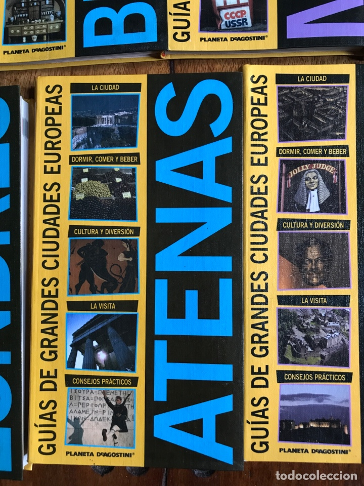 Libros: Guías grandes ciudades europeas Planeta Agostini 2003 - Foto 8 - 184251535