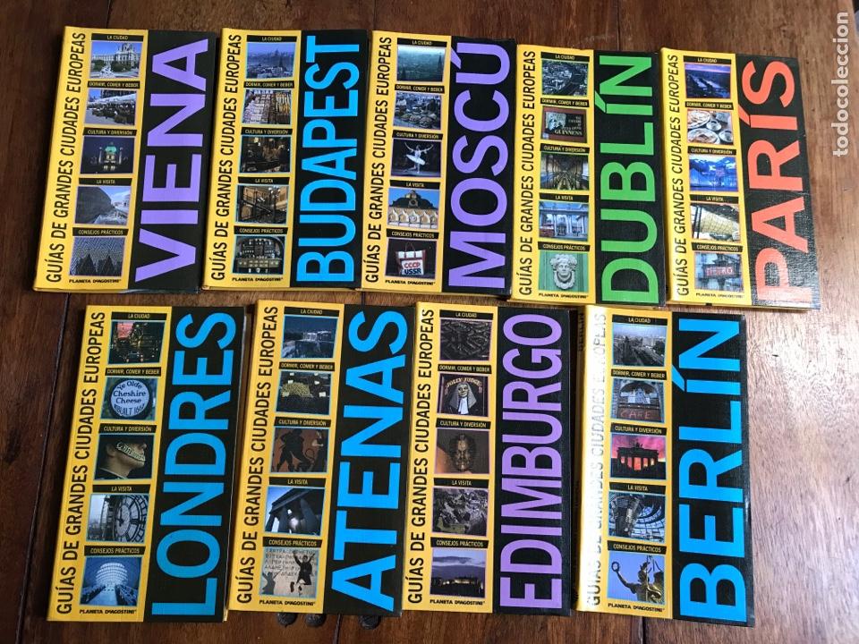GUÍAS GRANDES CIUDADES EUROPEAS PLANETA AGOSTINI 2003 (Libros Nuevos - Ocio - Guía de Viajes)