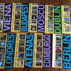 Libros: GUÍAS GRANDES CIUDADES EUROPEAS PLANETA AGOSTINI 2003. Lote 184251535