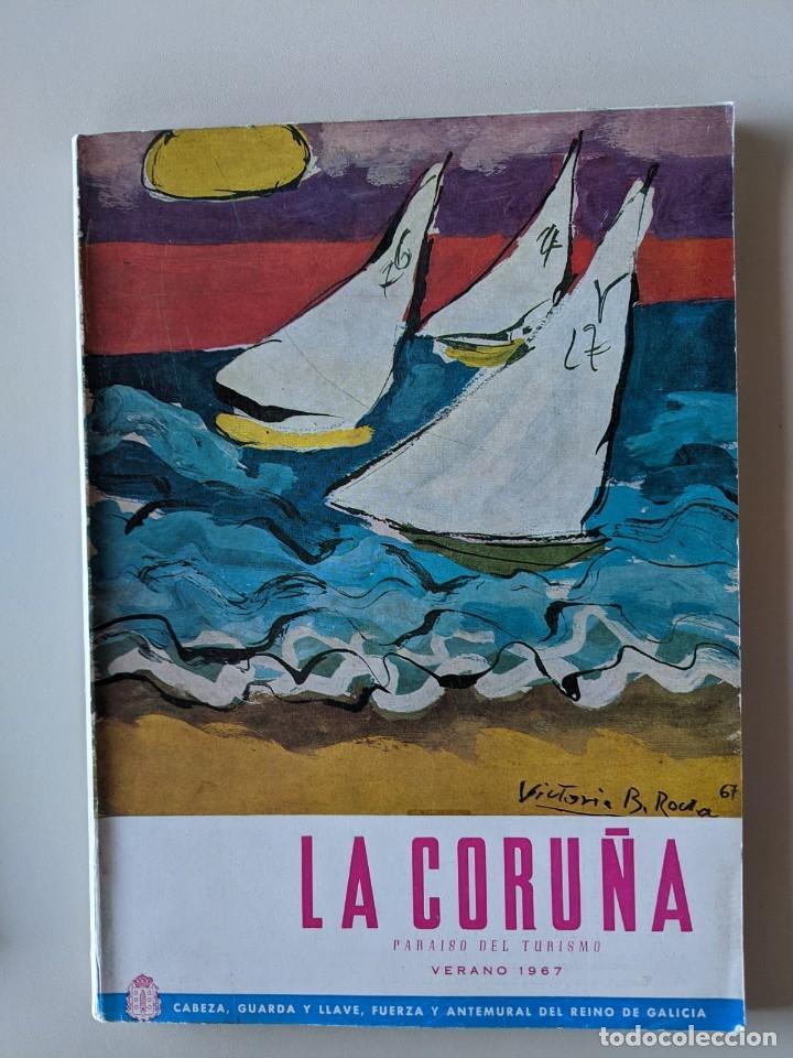 LA CORUÑA - PARAISO DEL TURISMO - VERANO 1967 - MORET (Libros Nuevos - Ocio - Guía de Viajes)