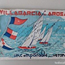 Libros: RRR REVISTA VILLAGARCIA DE AROSA - DE AROUSA - INCOMPARABLE PARA EL VERANEO - AÑOS 50 - BUCETA. Lote 185988433