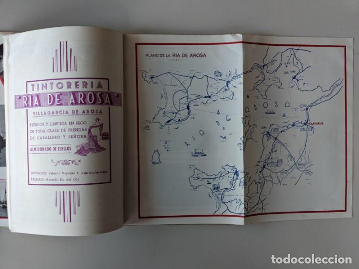Libros: RARISIMA GUIA TURISTICA 1953 VILLAGARCIA DE AROSA - AROUSA - BENDAÑA - Foto 3 - 185989607