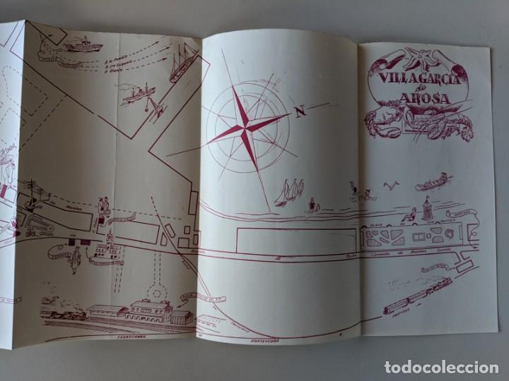 Libros: RARISIMA GUIA TURISTICA 1953 VILLAGARCIA DE AROSA - AROUSA - BENDAÑA - Foto 5 - 185989607