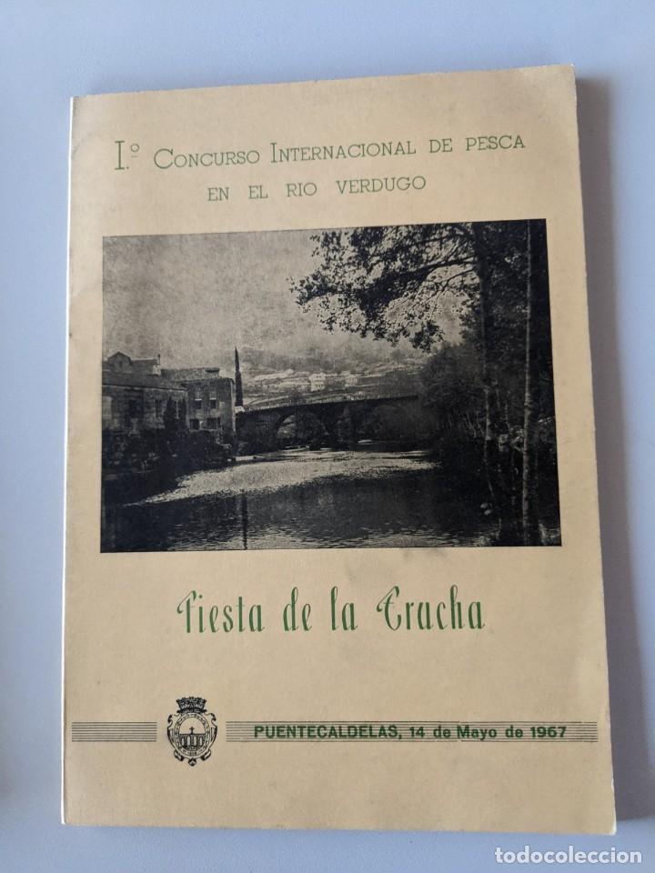 AÑO 1967 CONCURSO PESCA RIO VERDUGO - FIESTA DE LA TRUCHA - PONTECALDELAS - GALICIA (Libros Nuevos - Ocio - Guía de Viajes)