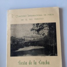Libros: AÑO 1967 CONCURSO PESCA RIO VERDUGO - FIESTA DE LA TRUCHA - PONTECALDELAS - GALICIA. Lote 185990202