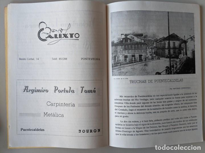 Libros: AÑO 1967 CONCURSO PESCA RIO VERDUGO - FIESTA DE LA TRUCHA - PONTECALDELAS - GALICIA - Foto 2 - 185990202