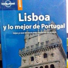 Libros: LISBOA Y LO MEJOR DE PORTUGAL, LONELY PLANET GUÍAS.. Lote 186431631