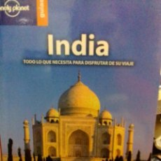 Libros: INDIA, LONELY PLANET GUÍAS.. Lote 186432088