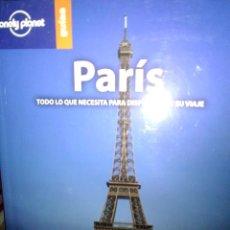 Libros: PARÍ, LONELY PLANET GUÍAS.. Lote 186432225