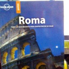 Libros: ROMA, LONELY PLANET GUÍAS.. Lote 186433085