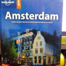 Libros: AMSTERDAM, LONELY PLANET GUÍAS.. Lote 186433353