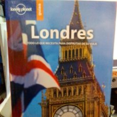 Libros: LONDRES, LONELY PLANET GUÍAS.. Lote 186433768
