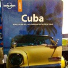 Libros: CUBA, LONELY PLANET GUÍAS.. Lote 186434076