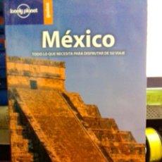 Libros: MÉXICO, LONELY PLANET GUÍAS.. Lote 186434193