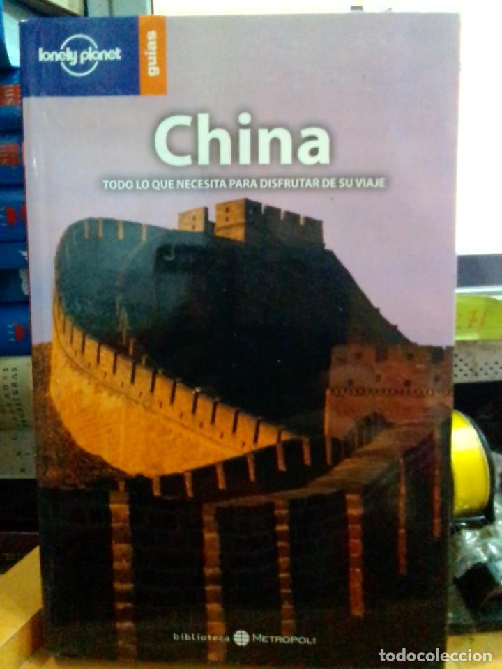 Libros: china, lonely planet guías. - Foto 1 - 186434335
