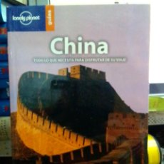 Libros: CHINA, LONELY PLANET GUÍAS.. Lote 186434335