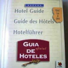 Libros: GUIA OFICIAL DE HOTELES DE ESPAÑA 1996. Lote 187413338