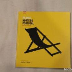 Libros: PLAYAS NORTE DE PORTUGAL-TURISMO DE PORTUGAL-EDICION EN CASTELLANO. Lote 189296198
