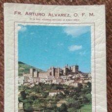 Libros: GUIA DE GUADALUPE - ARTURO ALVAREZ - 1961. Lote 189924280