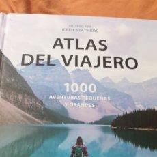 Libros: ATLAS DEL VIAJERO . 1000 AVENTURAS PEQUEÑAS Y GRANDES . LIBRERO. Lote 192201980