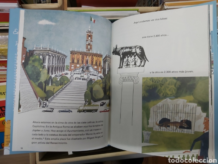 Libros: Esto es Roma, de M. Sasek - Foto 3 - 267702854