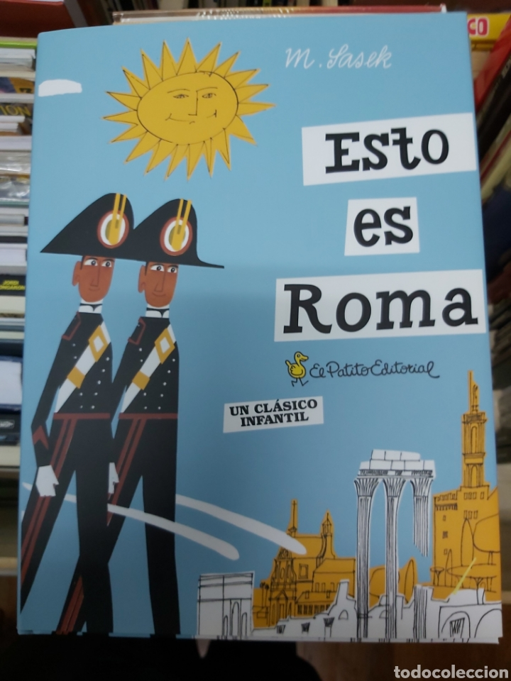 ESTO ES ROMA, DE M. SASEK (Libros Nuevos - Ocio - Guía de Viajes)