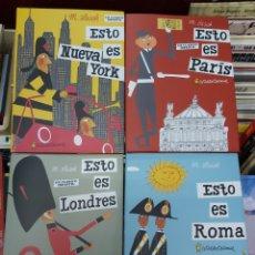 Libros: ESTO ES, DE M. SASEK COLECCION COMPLETA DE EL PATITO EDITORIAL. Lote 267702769