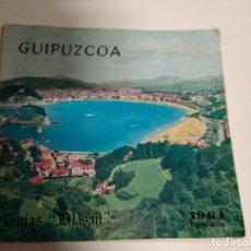 Libros: GUIAS BLASAN / GUIPUZCOA PRIMERA EDICION 1964 / 162 PAGINAS . Lote 193287167