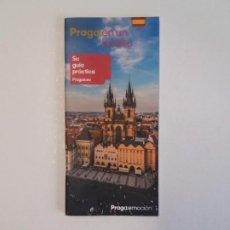 Libros: GUIA DE PRAGA ACTUAL. Lote 195675877