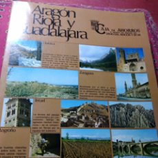 Libros: ARAGON, RIOJA Y GUADALAJARA. VIAJES. NATURALEZA.. Lote 201537830
