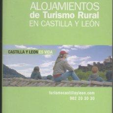 Libros: LIBRO GUIA ALOJAMIENTOS RURALES CASTILLA Y LEON 2008. Lote 203941511
